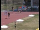 Первенство России 1996-97 Челябинск. Финал 400м с/б. Победный рывок. 6 дорожка.